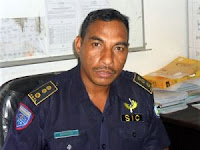Calisto Gonzaga, Director of the East Timor Police Criminal Investigations Service