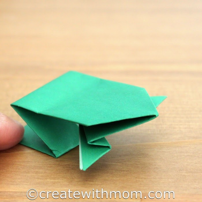 FREE! - Origami Instruction Worksheet - Frog (teacher made) | 700x700