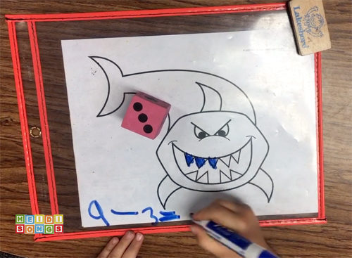 It S Shark Teeth Subtraction Freebie