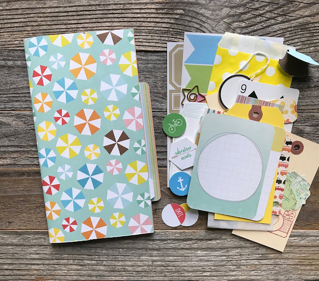 #smashbook #mixed media #journal #travelers notebook #midori #planner #planner supplies #mixed media journal #summer