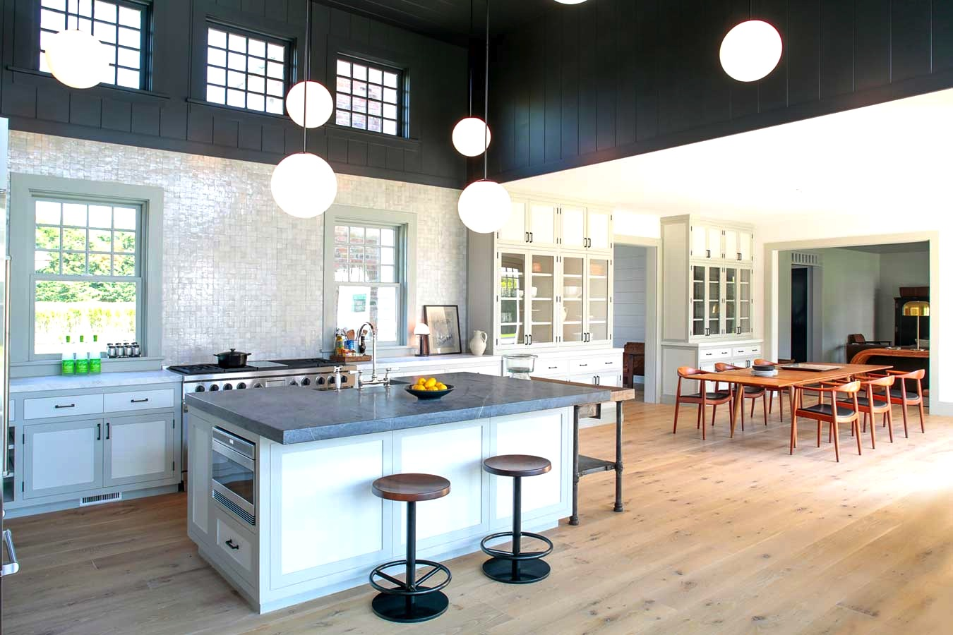 Two Tone Hardwood Floor Ideas Cococozy Tale Of A Two Toned Kitchen