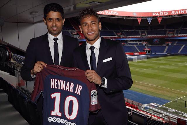 As autoridades francesas dizem que o Catar não será inocentado das acusações de financiamento do terrorismo, apesar do clube de futebol PSG comprar Neymar por um valor recorde.