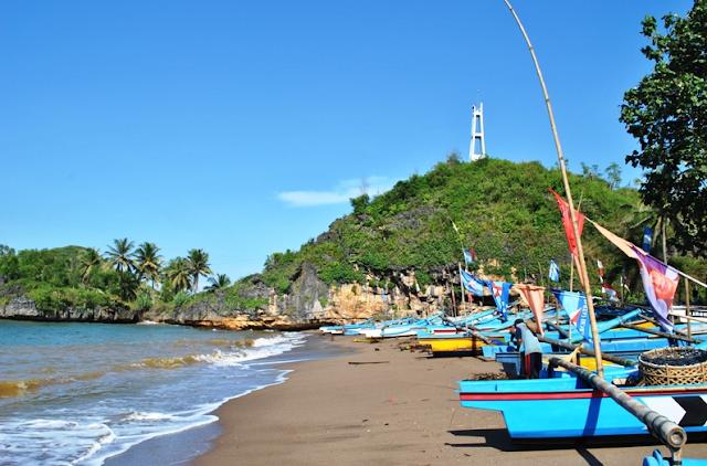 Fishermen Boats of Watu Karung Pacitan