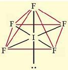 bentuk senyawa IF5