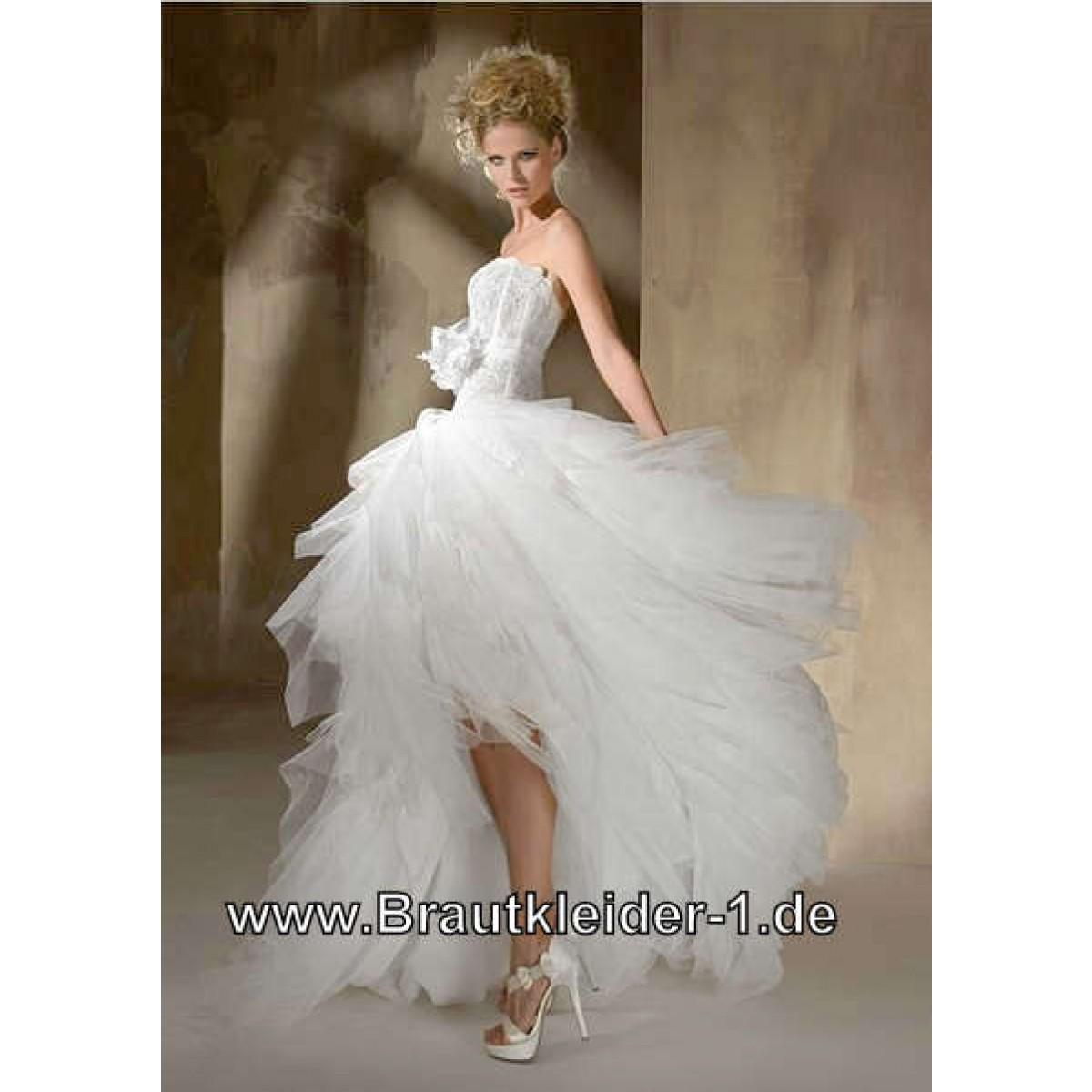 Vokuhila Brautkleider auf Rechnung: 20