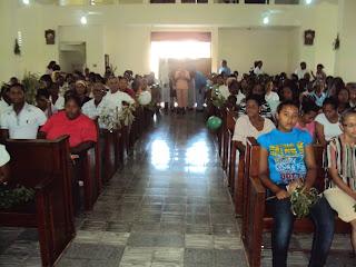 Resultado de imagen para imagen del templo catolico de Pedernales,Rep.Dominicana