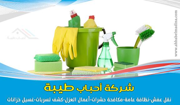 خدمات شركة تنظيف بينبع من تنظيف شقق وخزانات وكنب وغيرها الكثير