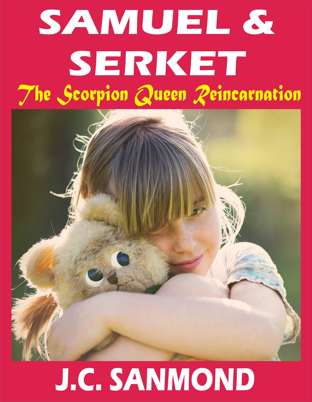 Samuel and Serket -the scorpion queen reincarnation-.