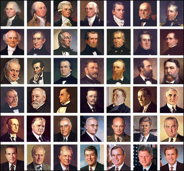 موسوعة الدوان الثقافي أسماء رؤساء الولايات المتحدة الأمريكية