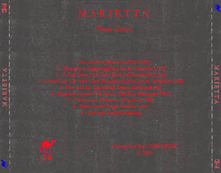 MARIETTA - Main Artist (Camelblue's compilation) back cover