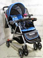 Kereta Bayi Does DS282 Bandre Ayunan - Blue