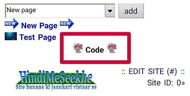wapka-website-code-icon-inserted