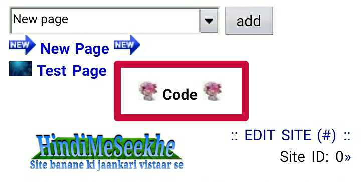 wapka-website-code-icon-inserted