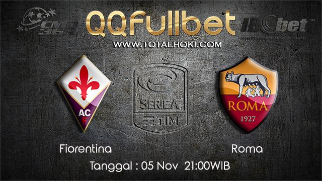 PREDIKSIBOLA - PREDIKSI TARUHAN BOLA FLORENTINA VS ROMA 5 NOVEMBER 2017 (SERIE A)