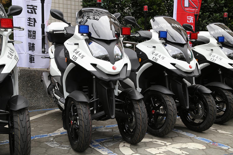 宏佳騰3D-350 警用機車捐贈儀式