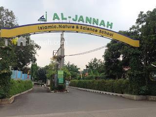 gambar pintu gerbang ke al-jannah Islamic,Nature & Science School