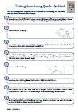 Umfangsberechnung Klassenarbeit Quadrat PDF