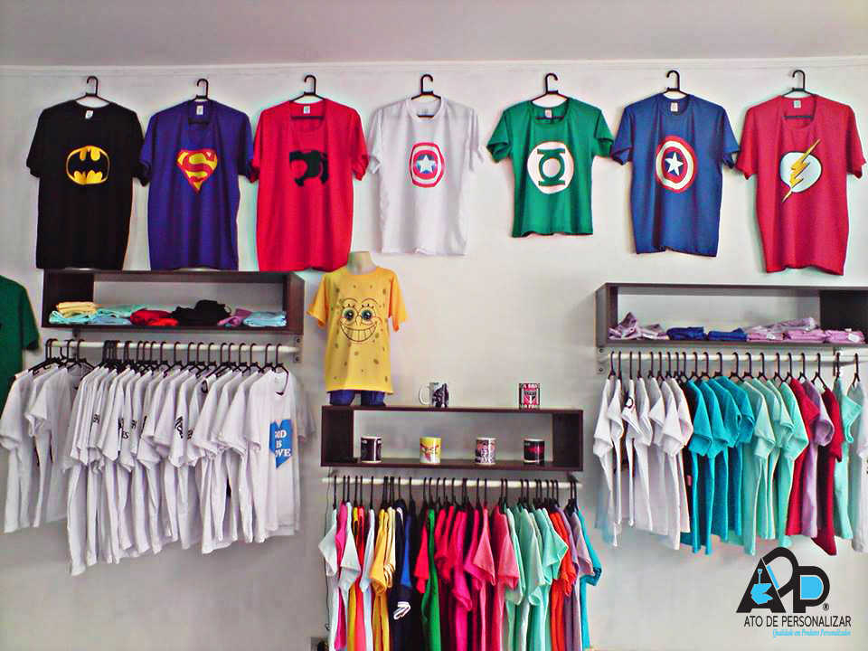 195c0227bd1fd Loja de Camisetas Personalizadas! - Ato De Personalizar