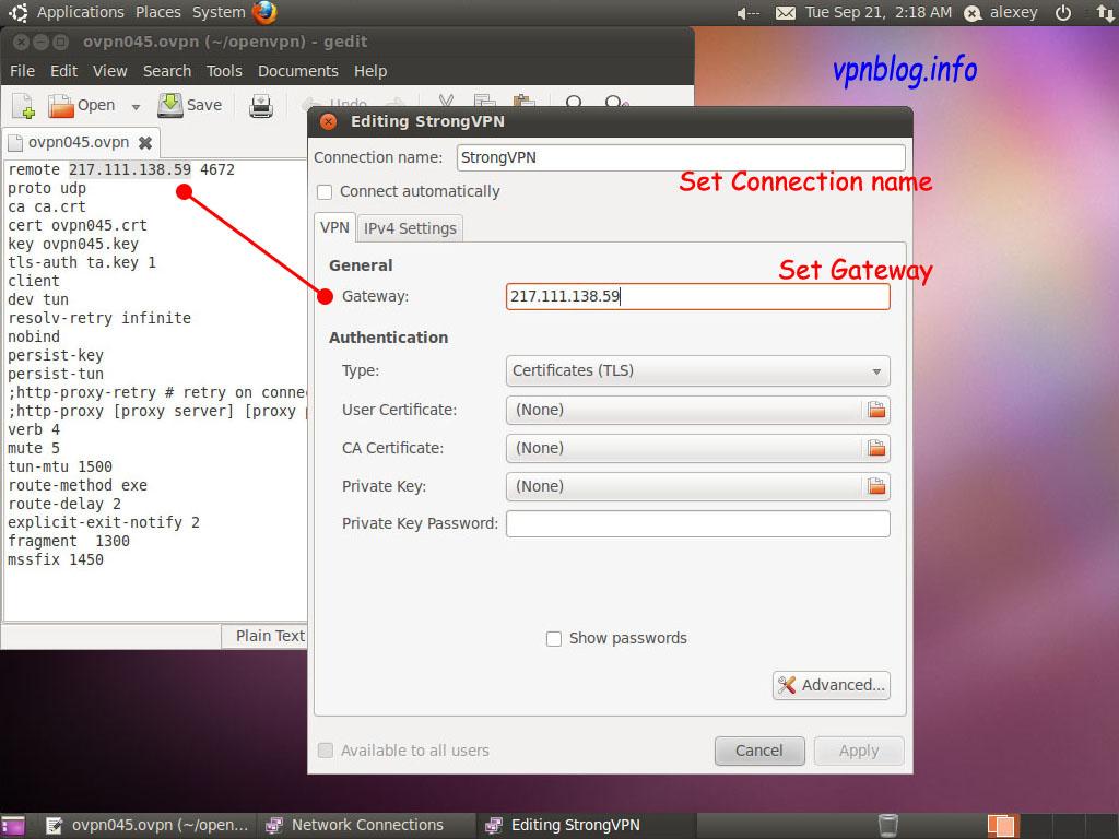 H Bala Ji: Ubuntu 10 10 OpenVPN by StrongVPN