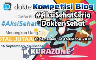 Kompetisi Blog - #AkuSehatCeria Berhadiah Uang Tunai Jutaan Rupiah