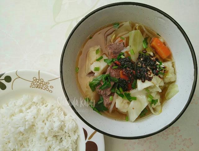 sup panas pembuka selera