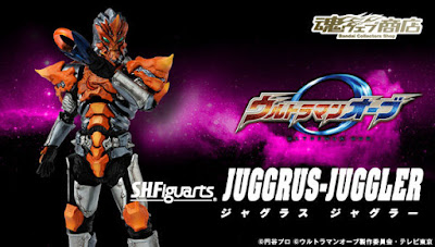 Jugglus Juggler da Ultraman Orb ci viene proposto dalla Bandai