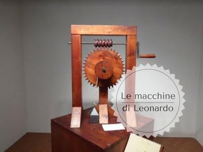 macchine di leonardo in mostra