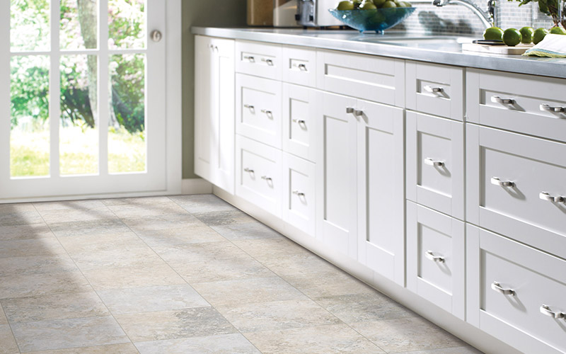 Tile is both a practical and beautiful choice for this entryway