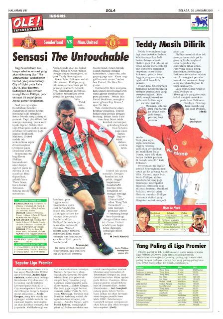 SUNDERLAND VS MAN. UNITED SENSASI THE UNTOUCHABLE