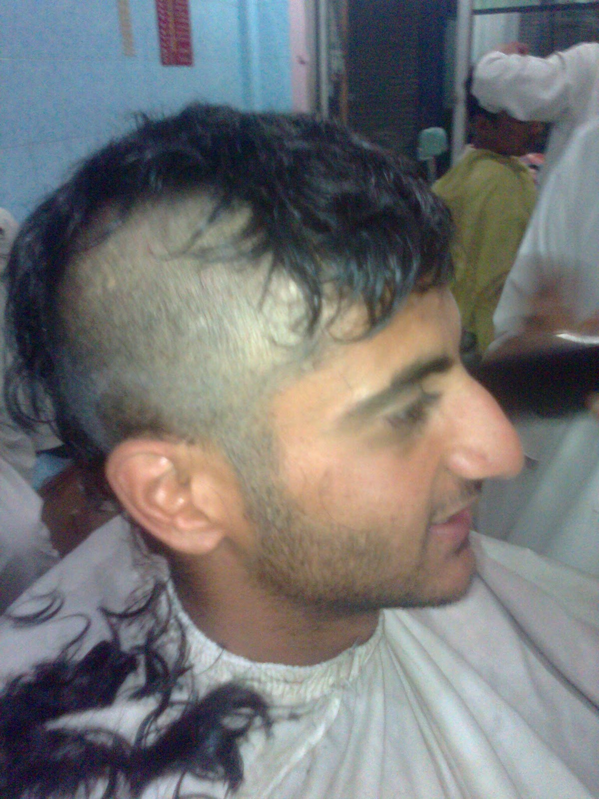 Junaid Aashiq From Wah Cantt Cutting Hairs