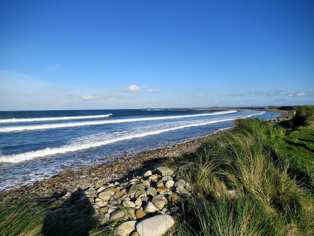 Waves along the Wild Atlantic Way in County Sligo, Ireland