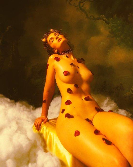 A. J. Hamilton thetogfather instagram arte fotografia mulheres modelos sensuais renascentismo pinturas peitos provocante nuas