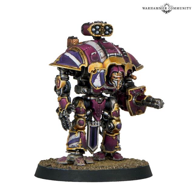 Armas Caballero Imperial Adeptus Titanicus