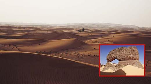 Cientos de misteriosas estructuras antiguas han sido encontradas en el desierto del Sahara