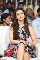Kyra Dutta in a Deep neck Small Dress at Shamanthakamani pre release function ~  Exclusive 074.JPG