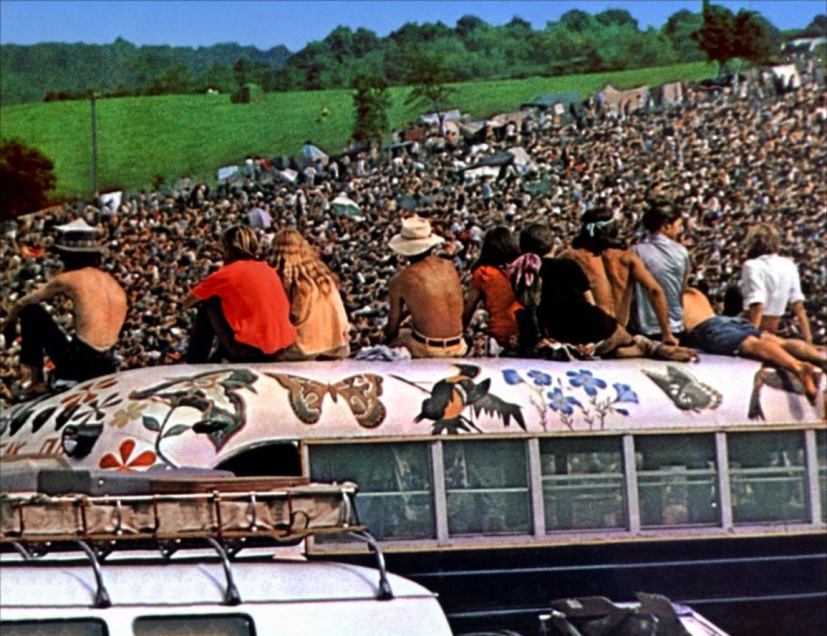 woodstock revolution 1969 Woodstock 1969 music festival daily band lineup and songlists, plus personal accounts from those who attended.