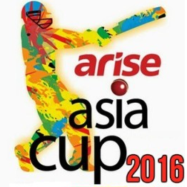Asia Cup 2016 Fixtures
