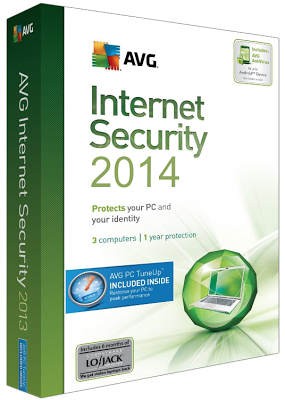 AVG Internet Security 2014 Build 4016 (x86/x64) + Serial Free Download
