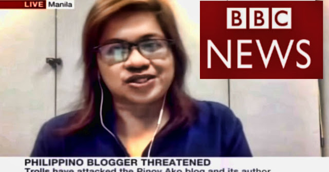 WATCH | video ng Buong Interview ng BBC WORLD NEWS kay Jover Laurio aka Pinoy Ako Blog.