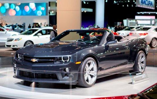 2013 Chevrolet Camaro ZL1 Convertible | CarandBlog - New ... 2013 Camaro Zl1 Supercharged Specs
