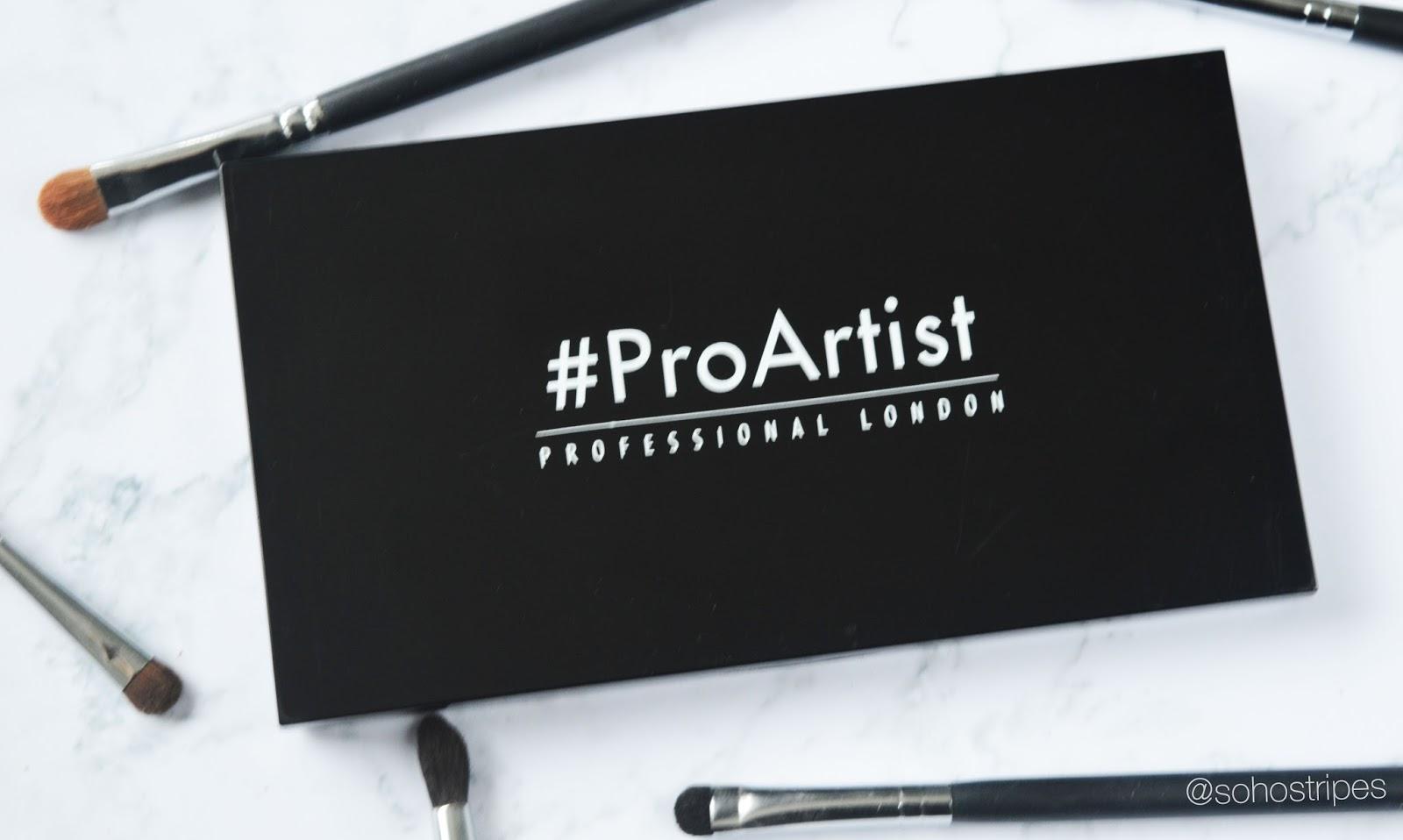 Freedom Pro Artist Custom Palette with new HD eye foil Burnt Morphe Brushes