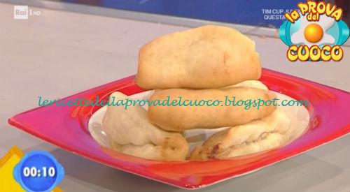 Panzerotti al prosciutto ricetta Ricchebono da Prova del Cuoco