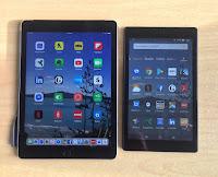 iPad or Kindle Fire