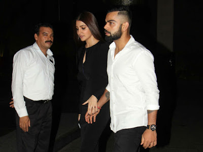 Virat Kohli Anushka Sharma in Zaheer Khan and Sagarika engagement