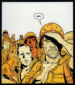 Viñeta El castigador: el pelotón de Garth Ennis y Goren Parlov de Marvel, edita Panini