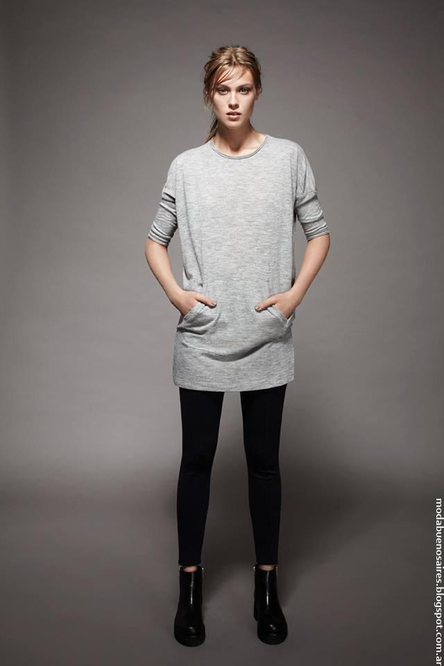 Moda otoño invierno 2016 ropa de mujer. Chocolate otoño invierno 2016.