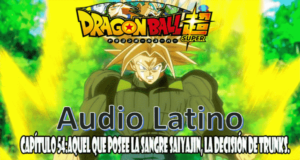 Capitulo 54 en audio latino online, Wiss, Bills y Goku han vuelto a la tierra, mientras que Trunks del futuro intenta aliviar sus traumas de su hogar a causa del terrible Black.