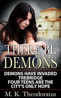 Book Showcase: There Be Demons by M.K. Theodoratus
