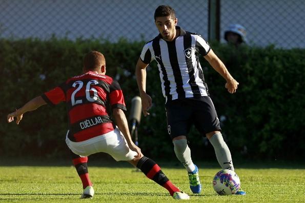 Em jogo disputado, Botafogo e Flamengo não saem do empate