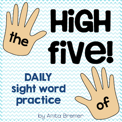 Daily Sight Word Practice for Kindergarten students